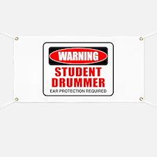Student Drummer Banner
