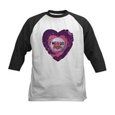 Twilight Mom Violet Grunge Heart Tee