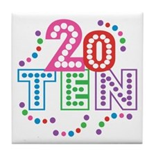 2010 Celebration Tile Coaster