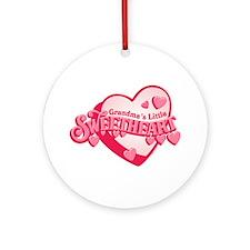 Grandma's Sweetheart Ornament (Round)