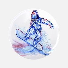 """Snowboarder III 3.5"""" Button"""