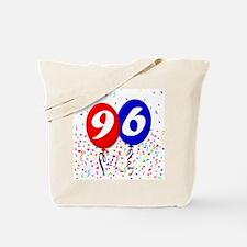 96th Birthday Tote Bag
