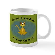 Professional Cat Herder Funny Mug