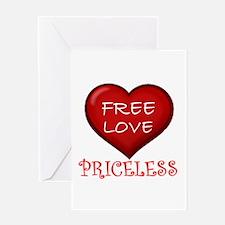 PRICELESS ! - Greeting Card