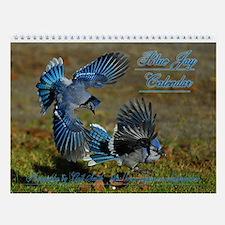 Blue Jay Wall Calendar