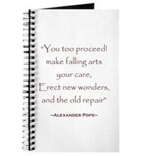 Alexander Pope Preservation Quote Journal