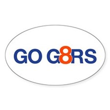 GO G8RS - Oval Decal