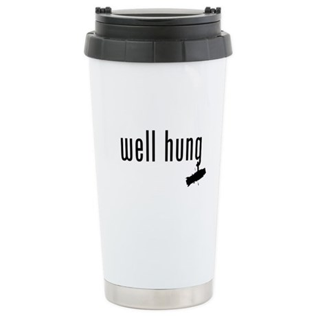 well hung Stainless Steel Travel Mug