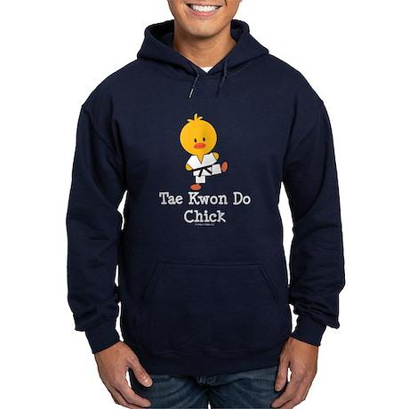 Tae Kwon Do Chick Hoodie (dark)
