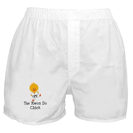 Tae Kwon Do Chick Boxer Shorts