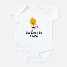 Tae Kwon Do Chick Infant Bodysuit