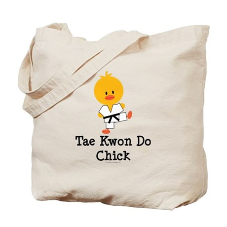 Tae Kwon Do Chick Tote Bag