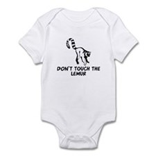 Don't Touch the Lemur Infant Bodysuit