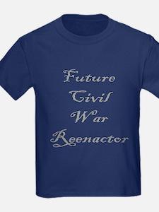 Future Civil War Reenactor T