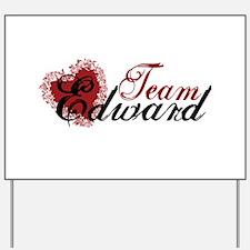 Team Edward Cullen Yard Sign