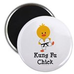 Kung Fu Chick Magnet