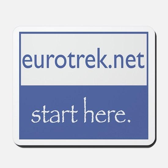 eurotrek.net Mousepad