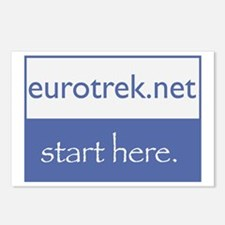 eurotrek.net Postcards (Package of 8)