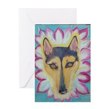 DOGDALLA pet shop Greeting Card