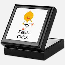 Karate Chick Keepsake Box