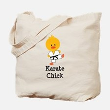 Karate Chick Tote Bag