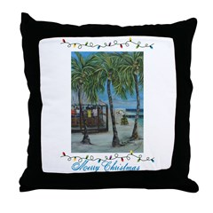BCs Holiday with Graphics Throw Pillow