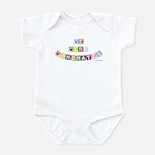 We Were Wombmates! Infant Bodysuit