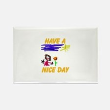 NICE DAY Rectangle Magnet (10 pack)