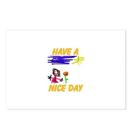 NICE DAY Postcards (Package of 8)