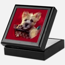 Christmas Puppy Keepsake Box