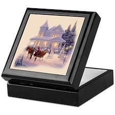 Victorian Christmas Keepsake Box