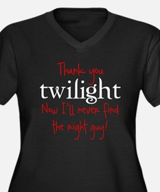 Thank You Twilight - Now I'll Women's Plus Size V-