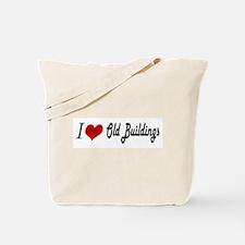 I Luv Old Buildings Tote Bag