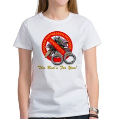Cannabis Surpression Program Women's T-Shirt