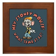Stoney Mouse -Time Framed Tile