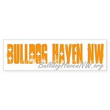BHNW Text Bumper Bumper Sticker