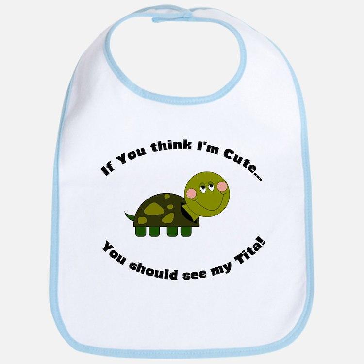 Turtle Bib- Cute Tita