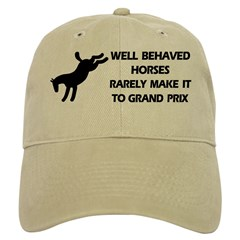 Well Behaved Horses Baseball Cap