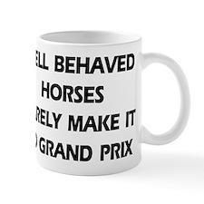 Well Behaved Horses Mug