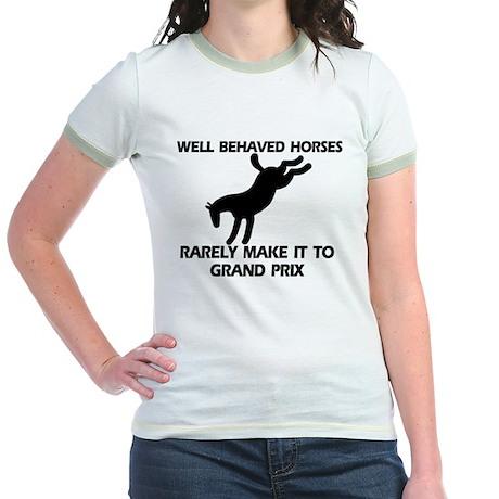 Well Behaved Horses Jr. Ringer T-Shirt