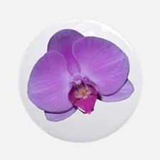 Orchid Ornament (Round)