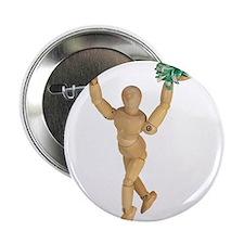"""Cheerleading 2.25"""" Button"""