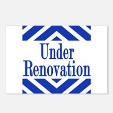 Under Renovation Postcards (Package of 8)