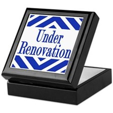 Under Renovation Keepsake Box