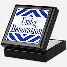 Under Renovation Keepsake Box