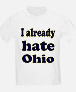 Cute Hate ohio T-Shirt