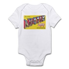 Greetings from Austin Infant Bodysuit