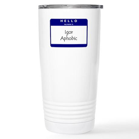 Igor Aphobic Stainless Steel Travel Mug