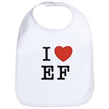 I Heart EF Bib