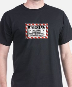 In Case of Rapture Black T-Shirt